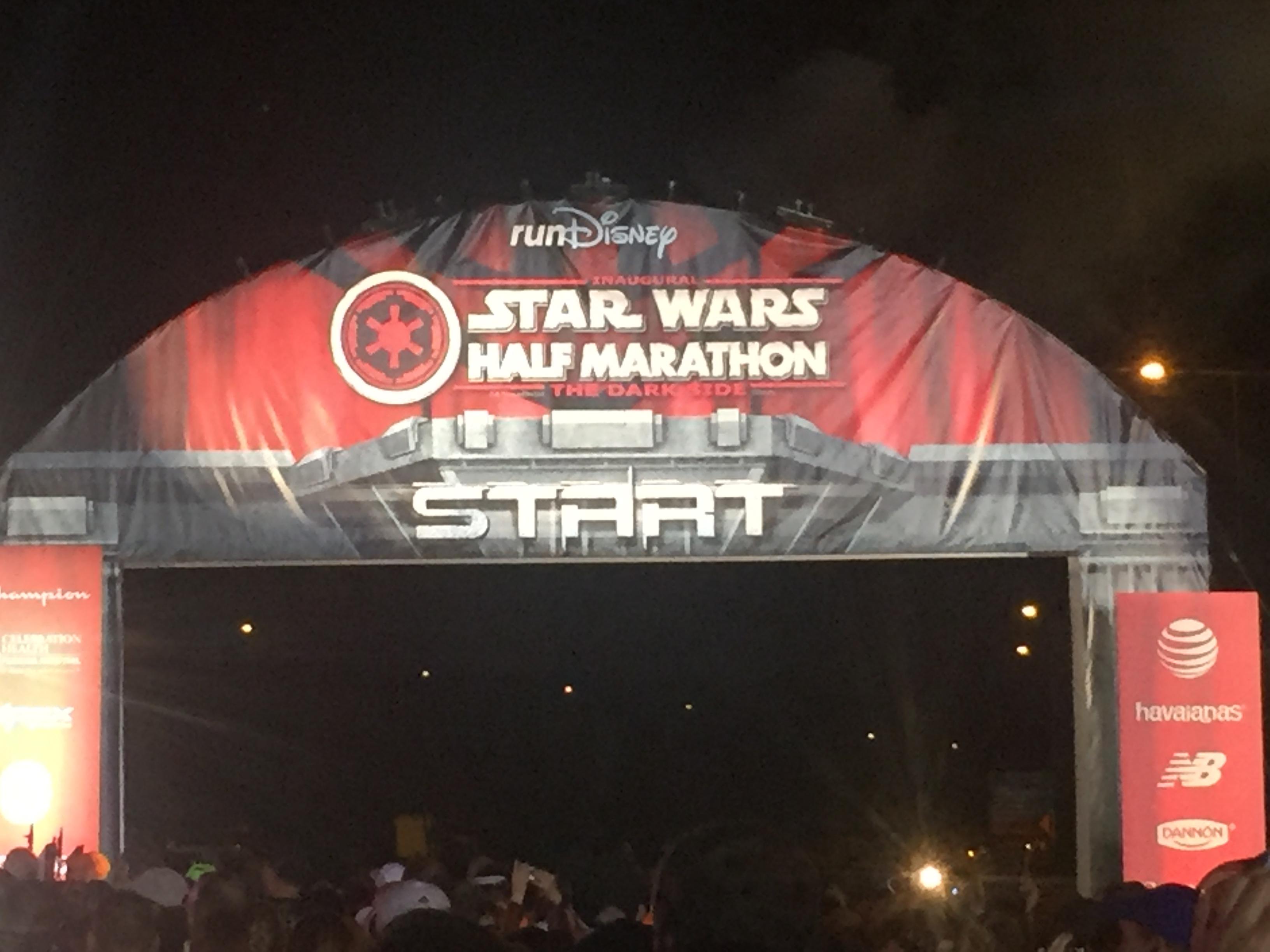 Star Wars Half Marathon Recap 2016