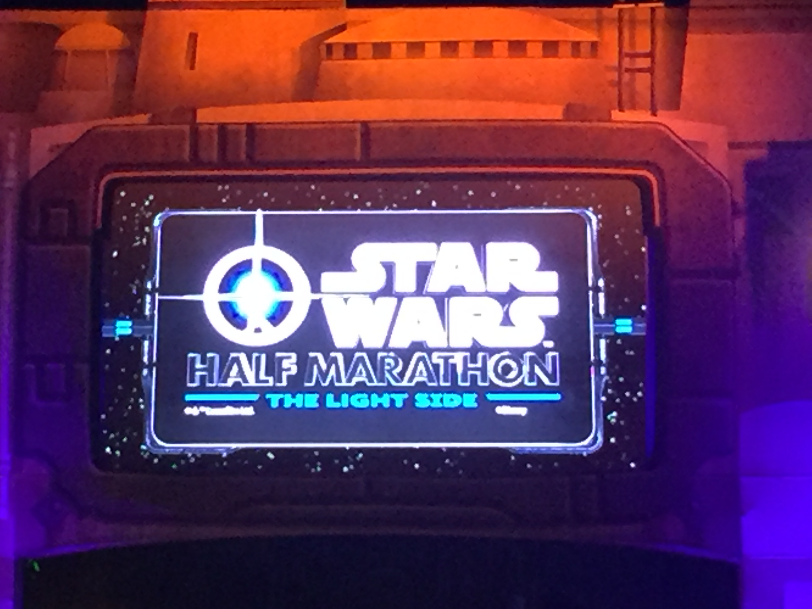 Star Wars Lightside 10k and Half Marathon Recap