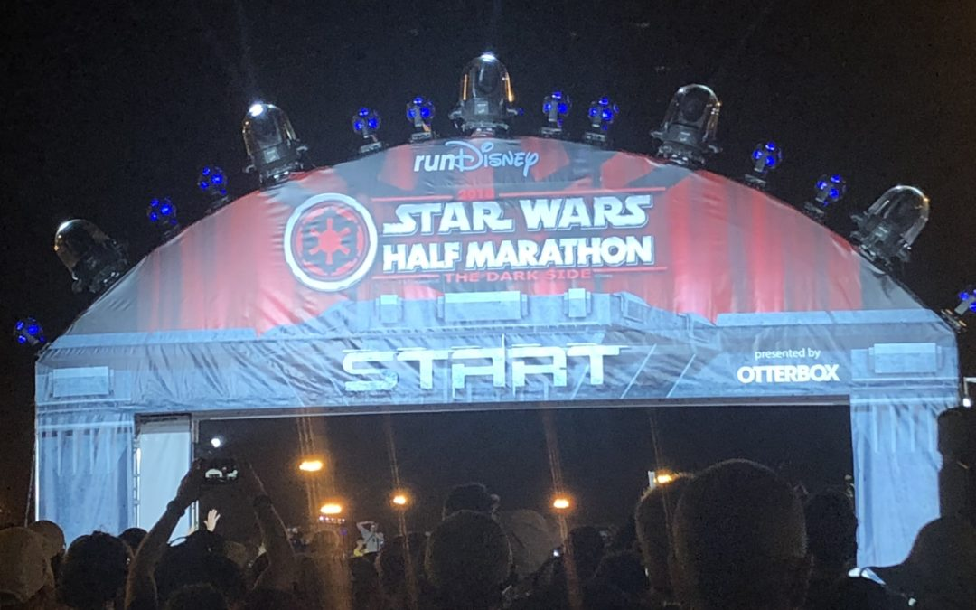 Star Wars Darkside Half Marathon 2018