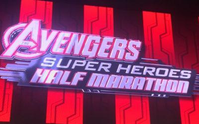 Avengers Superhero Half Marathon Recap 2016