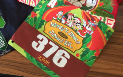 Mickey's Jingle Jungle 5K Recap 2015