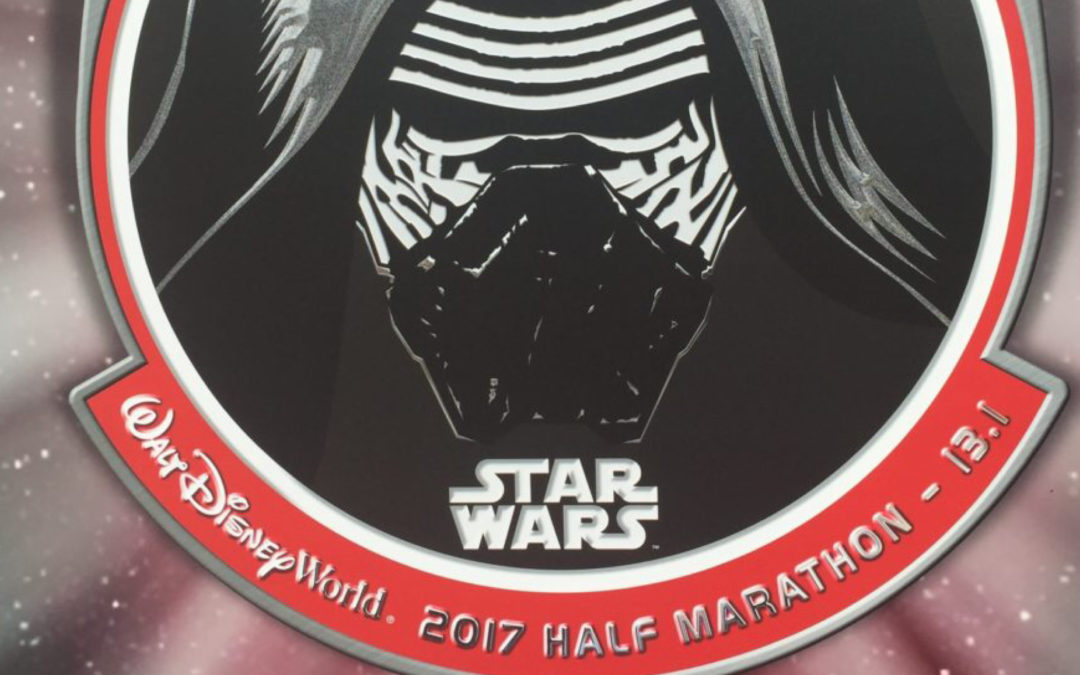 Star Wars Darkside Half Marathon 2017 Recap