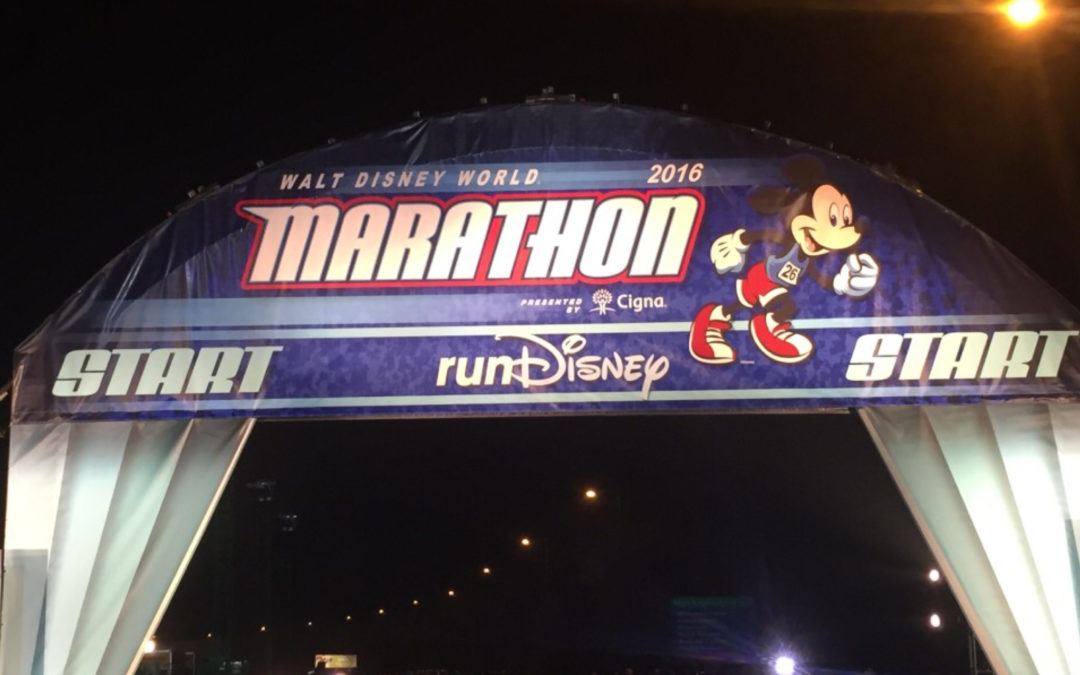 Walt Disney World Marathon 2016 Recap
